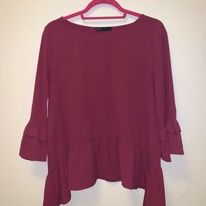 {Gibson} Purple Blouse